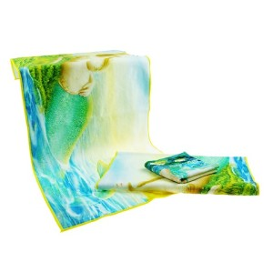 Wholesale Customized Cotton Cheap Printed Face Towels