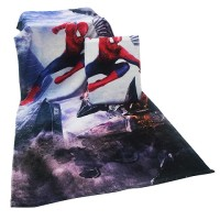 100% Cotton Custom Digital Printing Velour Bath Towels