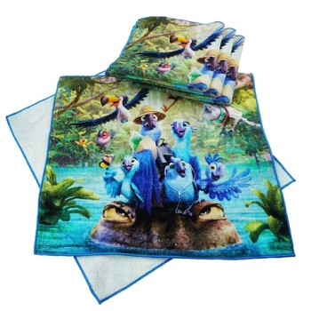 2017 wholesale high-quality cheap print hand towel