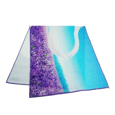 Wholesale Luxury Customized Digital Printed Face Towels 100% Cotton Made in China