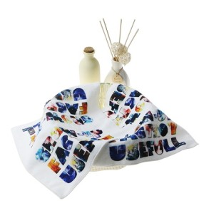 Colorfull printed cotton towels hand towels on sale