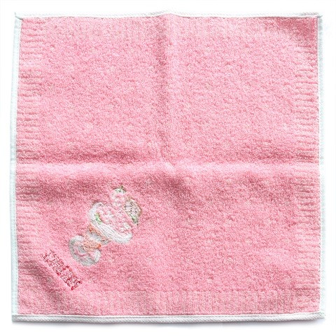 wholesale hand flower terry towel jacquard design