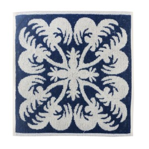 100% cotton jacquard cut pile super soft hand towel