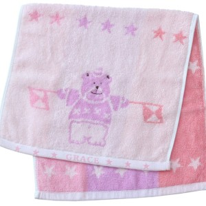 Customized Jacquard 100% Cotton Face Towel size