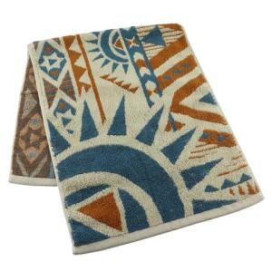 High quality jacquard 100 cotton face towel
