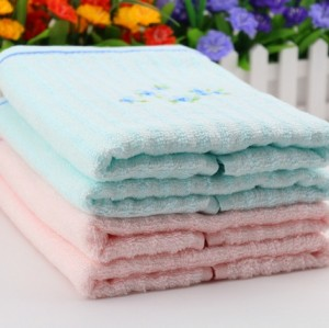 Cheap face towel 100% Bamboo fiber with High Quality From China Factory