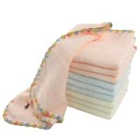 100% cotton zero twist embroidery face towel