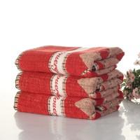 Super Soft Jacquard woven 100% Cotton Grid Face Towel