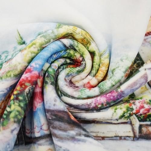 全新4K超清数码印花毛巾 创意花型数码印染大毛巾 工厂推荐可定制
