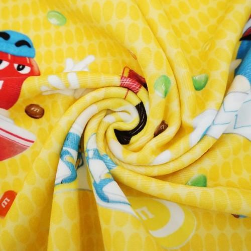 纯棉数码印花毛巾 4K超清创意巧克力印花大毛巾 小批量个性化定制