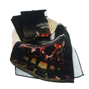 涤锦双面数码印花小方巾 暴力美学喷墨印花小毛巾 支持小批量定制