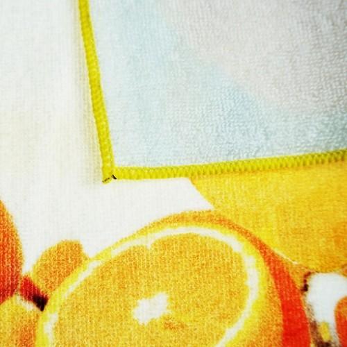 厂家直销新款家纺4K纯棉数码印花毛巾 纯棉卡通动漫毛巾定制批发