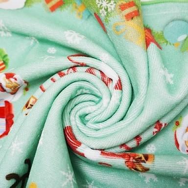 纯棉数码印花毛巾 4K超清创意印花大毛巾 支持来图批量个性化定制