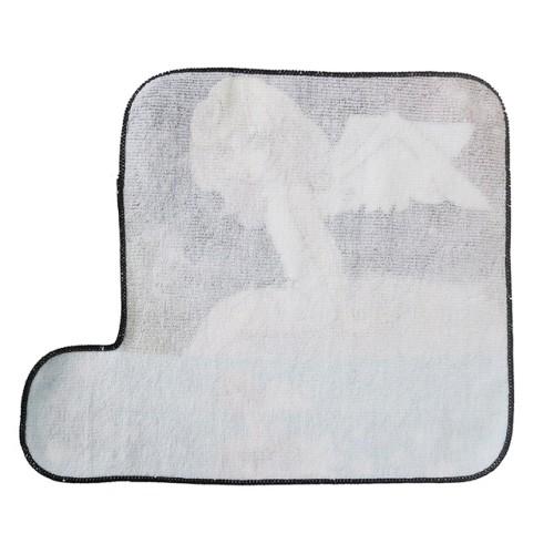 纯棉超清数码印花手腕巾 创意卡通人物花型印染小方巾 可个性定制