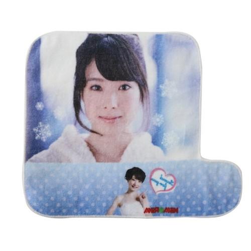 不懒人纯棉超清数码印花手腕巾 创意人物花型印染小方巾 厂家推荐
