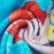 厂家直供数码印花浴巾 卡通公主系列数码印花大毛巾 支持批量定制