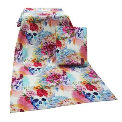 厂家直销4K活性印花浴巾儿童大毛巾 卡通家纺大浴巾 毛巾可定制