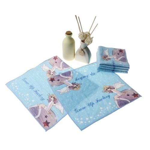 纯棉数码印花小方巾 超清4K印花小毛巾 厂家支持小批量个性化定制