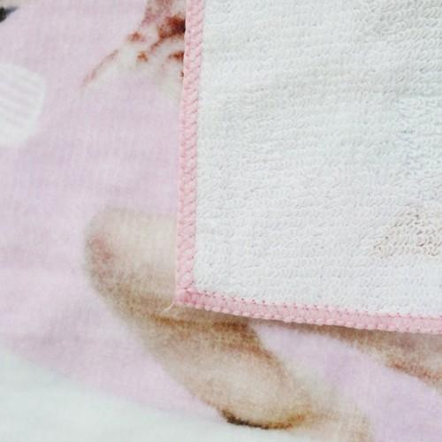纯棉超清数码印花方巾 出口日本印染小毛巾 工厂推荐批量来图定制