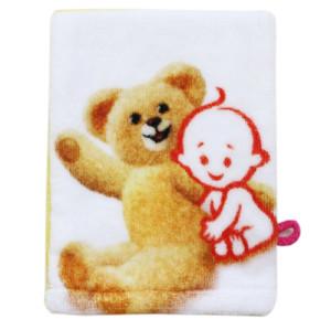 Super soft pure cotton fabric digital printing fabric terry towel applique back rub slings towel