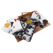 Wholesale 100% Cotton Custom Digital Printed towel set