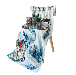 Full Color Digital Printing 100% Cotton Beach Towels