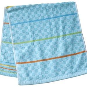 Jacquard Double Woven Velour Face Towel