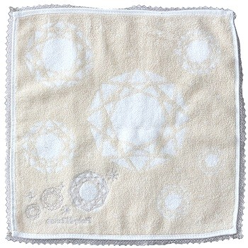 High quality jacquard 100 cotton hand towel