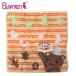 New promotional cotton jacquard towels baby bath towel lovely kids towel