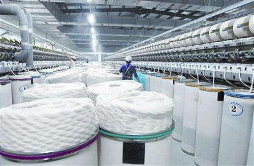In 2020, the textile industry can only establish a preliminary application system for manufacturing applications.