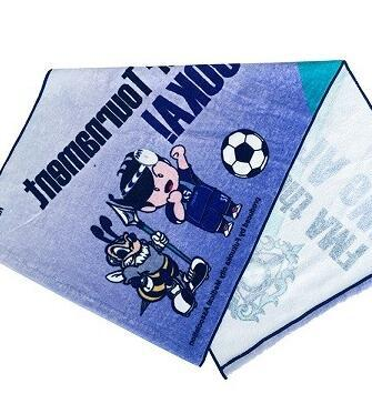 http://www.towelkingdom.com/pid18083972/High-Quality-100-Cotton-Custom-Football-Printed-Velour-Face-Towel.htm