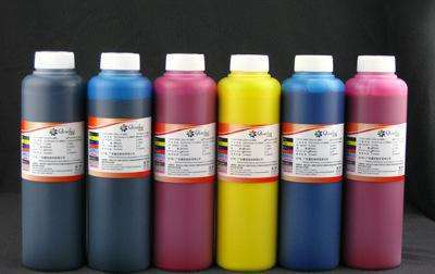 Digital printing company selected ink