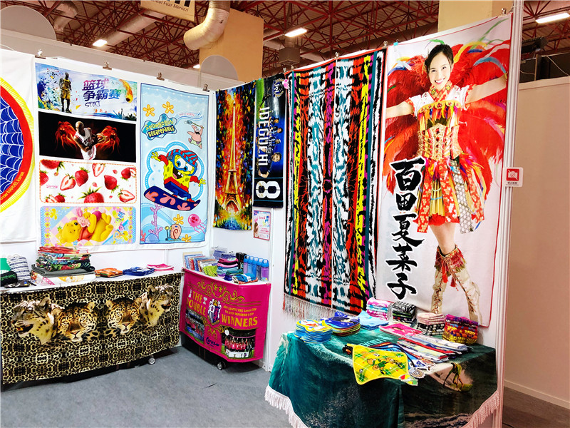 Come to 9B101 to see the exquisite cotton digital printing