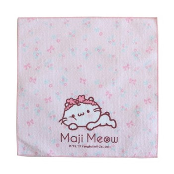 Microfiber soft hand feeling small hand towel for baby