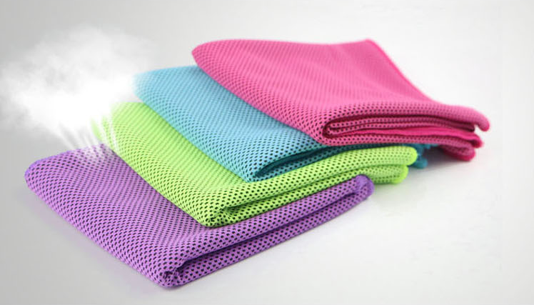 Summer essential - cold feeling towel