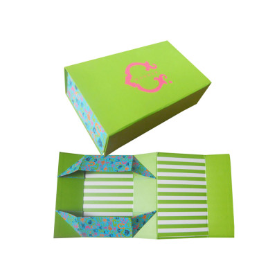 Brivote Wholesale bowtie Retail paper printed flat gift folding packaging box