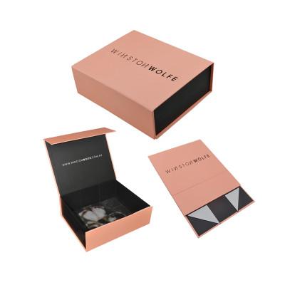 Custom clothing paper magnetic flat folding gift packaging box