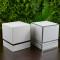 Custom paper cardboard luxury round rigid candle gift packaging box