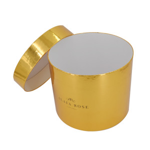 Brivote Custom Wholesale luxury round flower packaging boxes