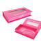 Wholesale charming custom false eyelash packaging box/eyelash box