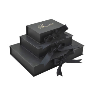 Donguan brivote Custom OEM bow tie packaging ribbon paper gift box