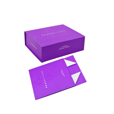 High Quality Hand Made Flat Folding Cardboard Packaging Gift Box