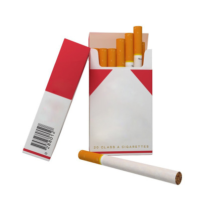 cardboard paper cigarette case blank diaplay outer cigarette printing box