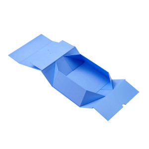 Flat Pack Shoes Packaging Gift Cardboard Foldable Gift Box