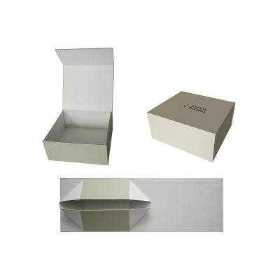 flat pack foldable collapsible cardboard packaging gift box