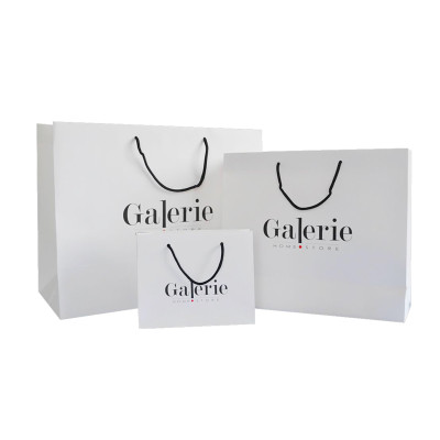 Luxury Recycled Custom Printing Logo Shopping Packing Paper Bag