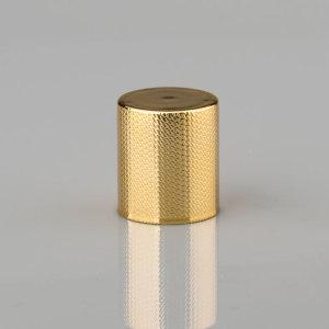 Simple perfume glass bottle aluminum cap