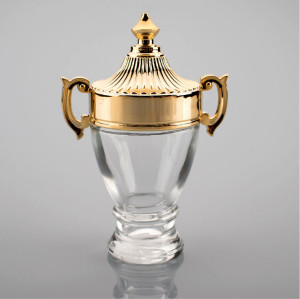 Trophy Model Special Design Glass Perfume Bottle