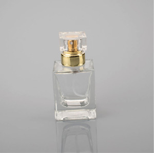 Wholesale lady use glass perfume bottle