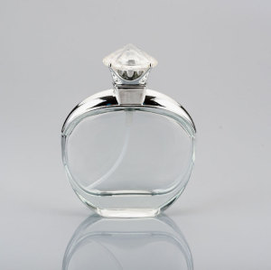 Wholesale aftershave manufacture empty clear perfume glass bottle